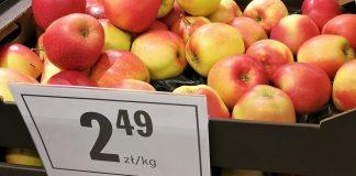 jabłka sklep