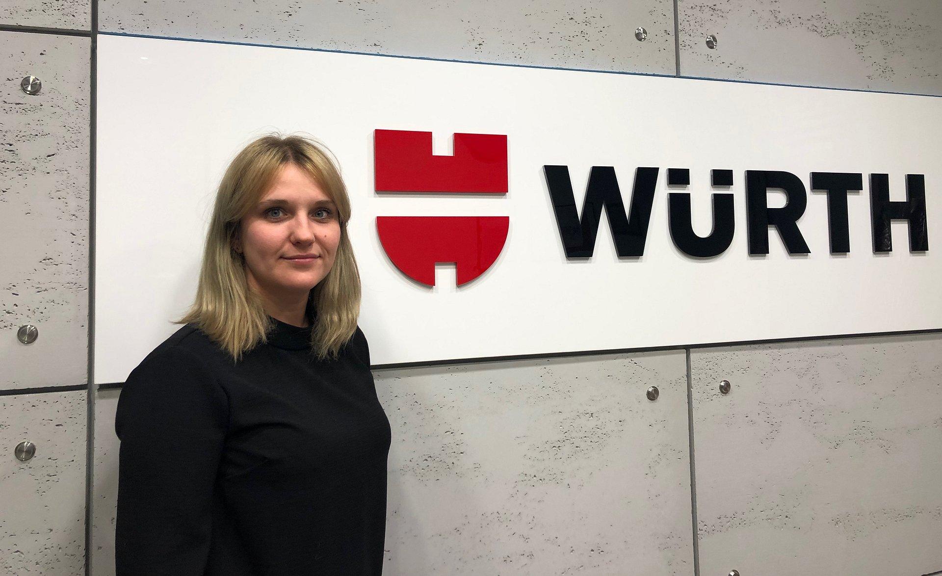 Justyna Sieracka, Starszy Specjalista ds. Zarządzania Zasobami Ludzkimi w Würth Polska