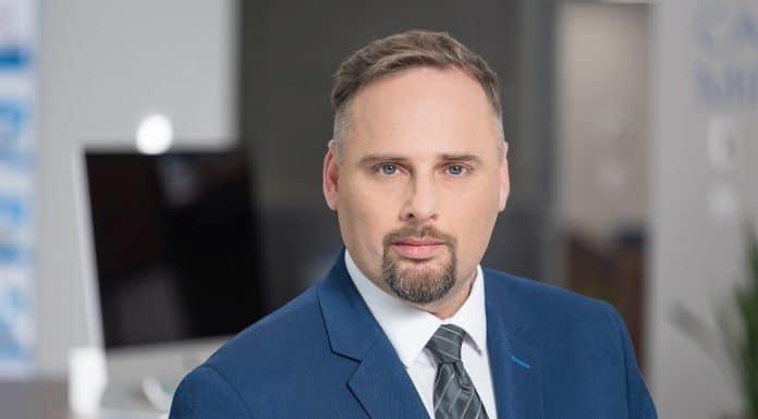 Mateusz Macierzyński, menedżer ds. systemów IT w firmie Konica Minolta
