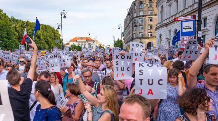 strajk demonstracja