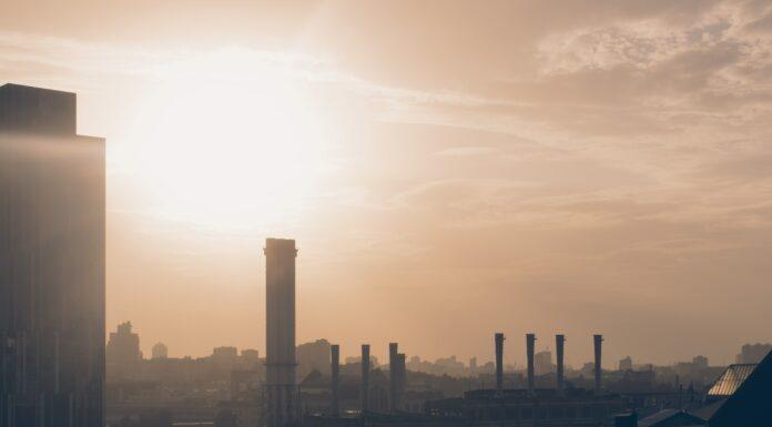 komin smog