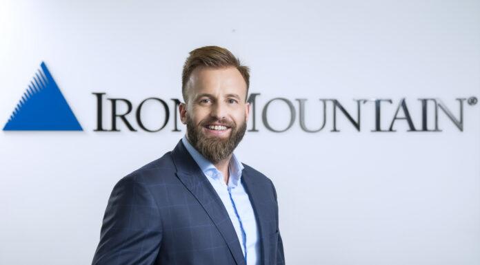 Marcin Mandryk, Sales Operations Executive CEE & Product Manager w Iron Mountain Polska