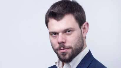 Piotr Trybusz, z firmy Probuild