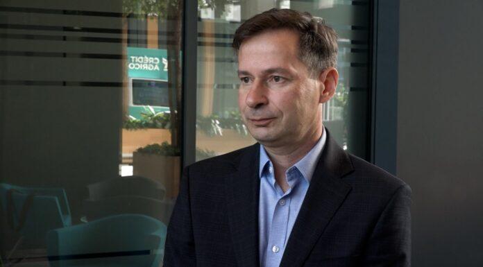 Radosław Woźniak, prezes Europejskiego Funduszu Leasingowego, należącego do Grupy Credit Agricole