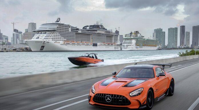 13. Sonderedition von Mercedes-AMG und Cigarette Racing feiert Weltpremiere Highly exclusive 13th special edition boat from Mercedes-AMG and Cigarette Racing celebrates world debut