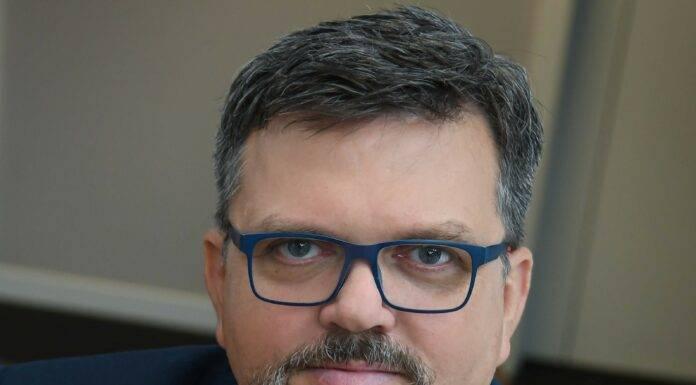 Marcin Ledworowski, członek Zarządu Banku Pocztowego odpowiadający za obszar biznesu i sprzedaży oraz IT