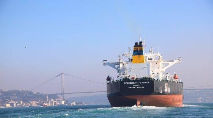 turcja statek transport eksport